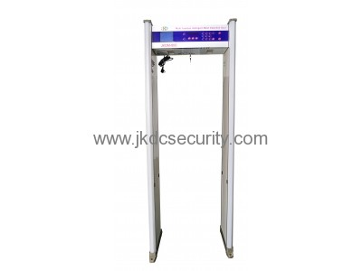 Large LCD Screen Walk Through Metal Detector JKDM-800A