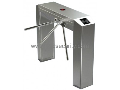 Fingerprint Optional 304 Stainless Steel Bridge Type Tripod Turnstile