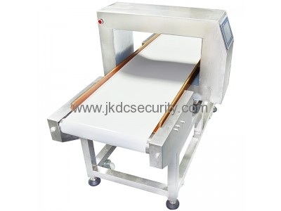 Touch Screen Conveyor Belt Food Metal Detector With Buzzer Alarm JKDC-500QE