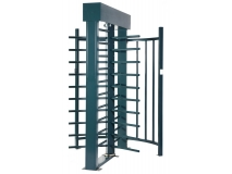 RFID Reader Access Control System Full Height Turnstiles JKDC-200