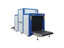 Professional X Ray Baggage Scanner With 1000mm X 1000mm Tunnel size JKDC-100100C